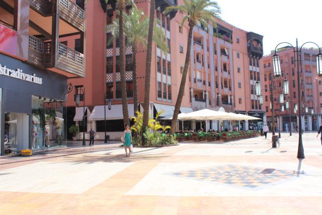 faire du shopping à marrakech
