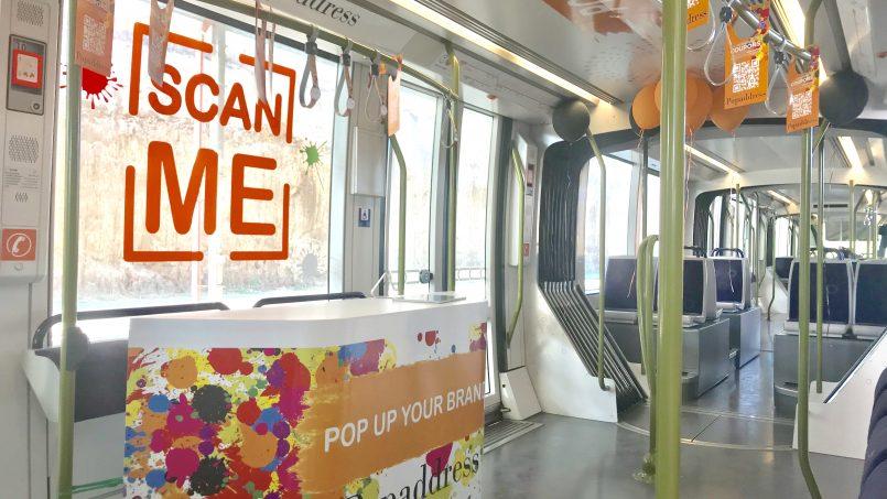 Bientot des pop up stores dans le Tramway de Casablanca!