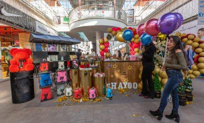 Stand Popmarket à Almazar Marrakech